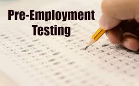 Pre-Employment Assessment test