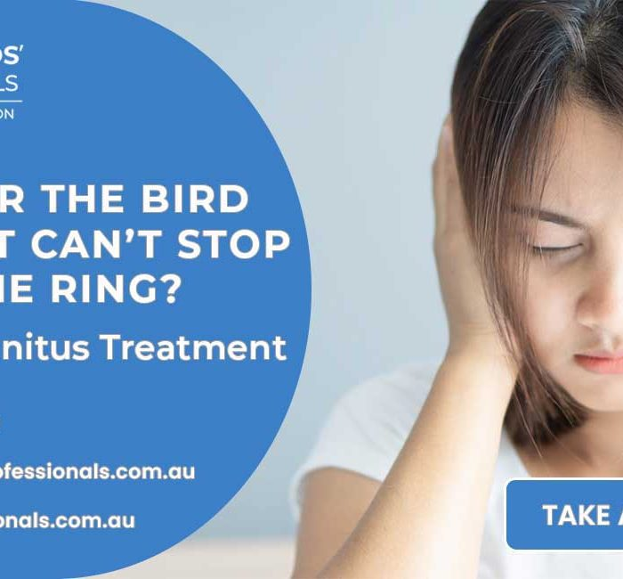 Excited for the bird season but can't stop hearing the ring? It's time for Tinnitus Treatment Sydney