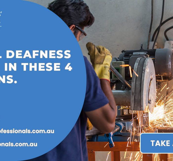Industrial Deafness Is Common In These 4 Professions. Visit An NDIS Specialist today